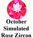 October Simulated Rose Zircon Example