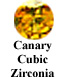 Canary Yellow Cubic Zirconia Example