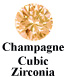Champagne Cubic Zirconia Example