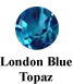 London Blue Topaz Example