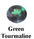 Green Tourmaline Example