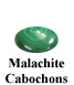 Malachite Cabochon Example